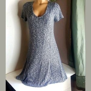 Dolan Left Coast collection blue & white Dress S